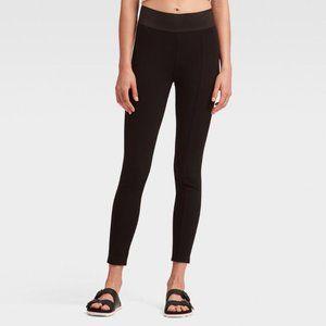 PONTE LEGGING WITH WIDE WAISTBAND